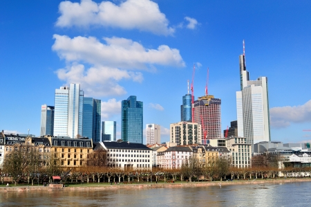 river main: Highrise in Europe