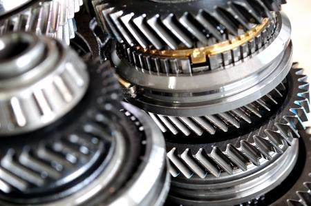 serrate: Wheels from car gear box