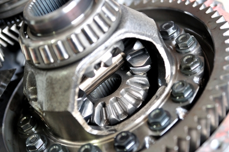 serrate: Car differential