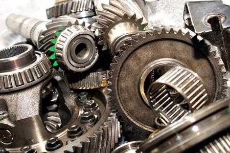Axle, gears and bearings  Reklamní fotografie