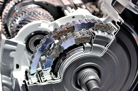 Querschnitt eines Automatikgetriebes.