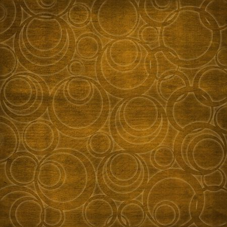 Abstract brown background with circles. Soft furnishings. Stock Photo - 3031937