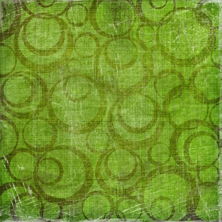 Abstract background with circles. Grunge paper photo