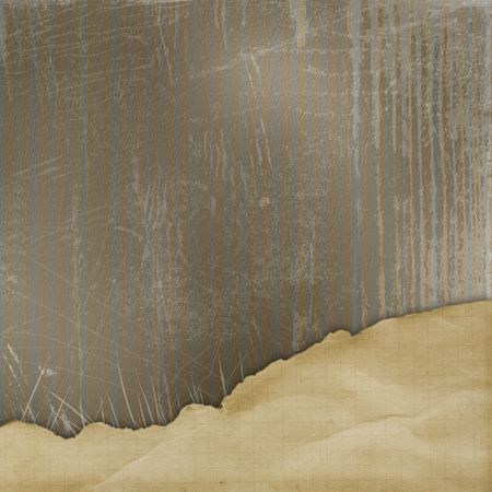alienated:  Abstract background with  alienated paper