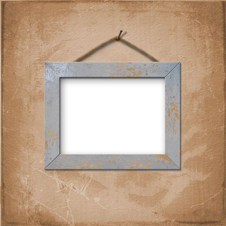 peg: Wooden frame for picture or photo