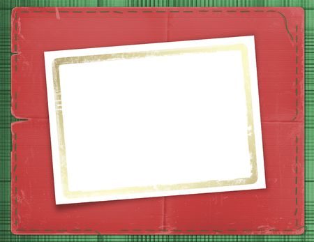 Framework for a photo or invitations.  A beautiful background. Stock Photo - 3885015
