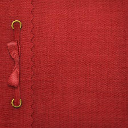 scrapbook cover: Red de portada de un �lbum con fotos