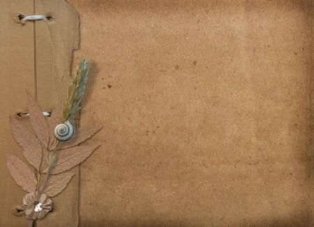 Grunge cover for an album with photos. Portfolio photo