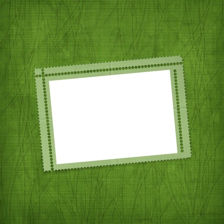 Old invitation for holiday with ribbons on the grunge background Stock Photo - 4337680