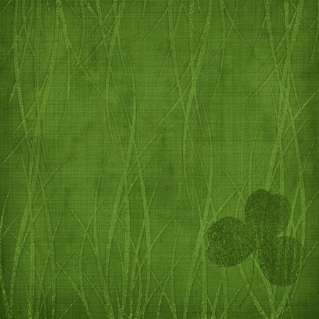 Grunge green background with ancient ornament Stock Photo - 4423060