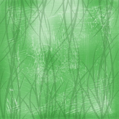 Green abstract background with vegetable floral ornament Stock Photo - 4545169