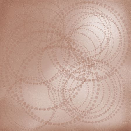 Abstract graphic background with circles. Grunge paper photo