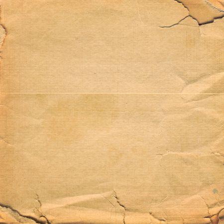 Grunge crumpled paper design in scrapbooking style photo