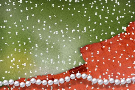 Abstract alienated background with white beautiful pearls Stock Photo - 5073453