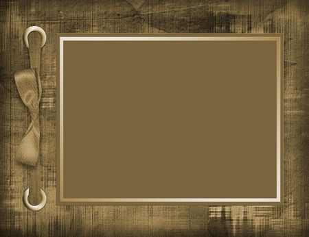 Abstract background with card for greeting or congratulation with bow photo