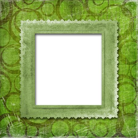 grunge frame  from old papers on the abstract background Stock Photo - 5300604