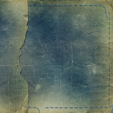 aide: Old grunge photoalbum for photos or aide record Stock Photo