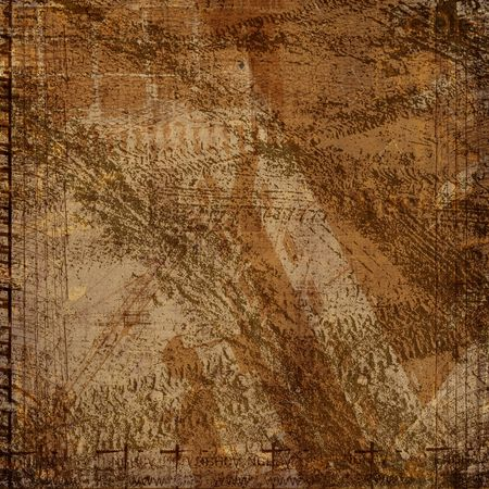 Grunge abstract background with art  image for design Stock Photo - 5832184