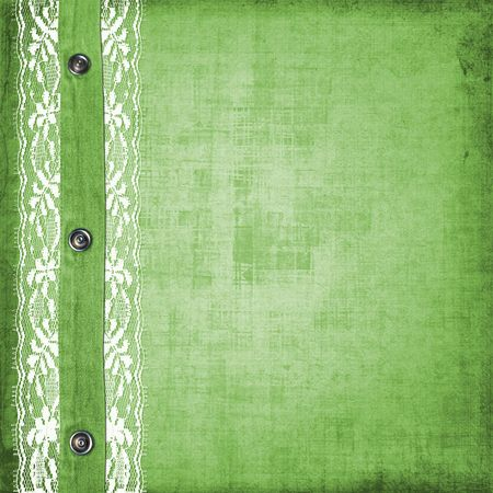 rivet: Abstract green jeans background with rivet for design Stock Photo