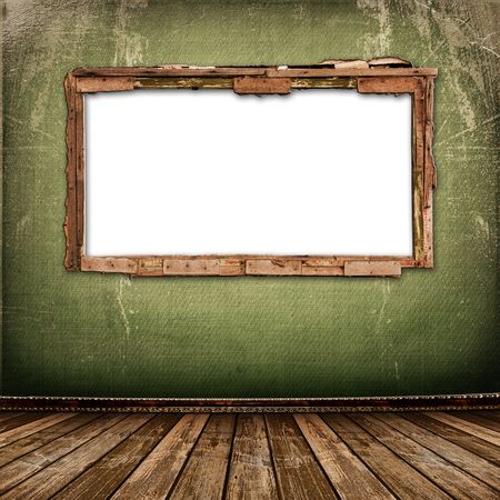 Old window on the antique wall with metal nail Stock Photo - 6065940