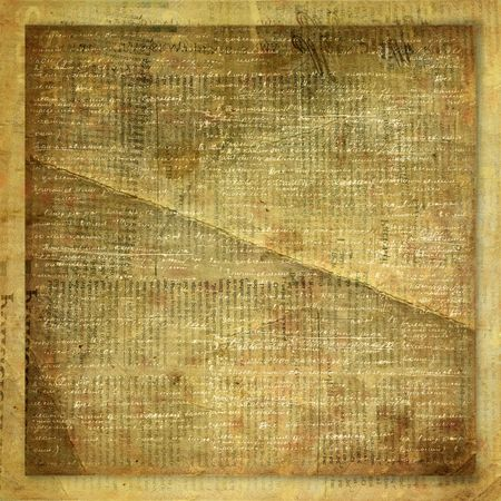 Vintage newspaper abstract background with printed text photo