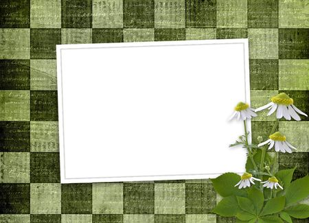 abloom: abstract background with bunch of flower for announcement or advertising Stock Photo