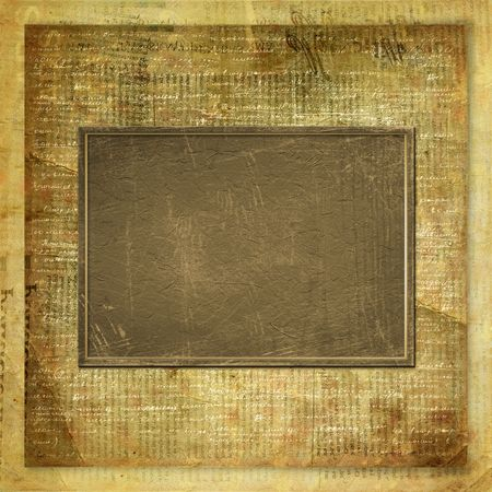 old newspapers: Vintage newspaper abstract background with printed text