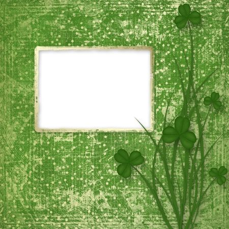 Design for St. Patrick's Day. Flower ornament. Stock Photo - 6317708