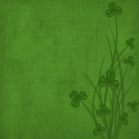 Design for St. Patrick's Day. Flower ornament. Stock Photo - 6353670