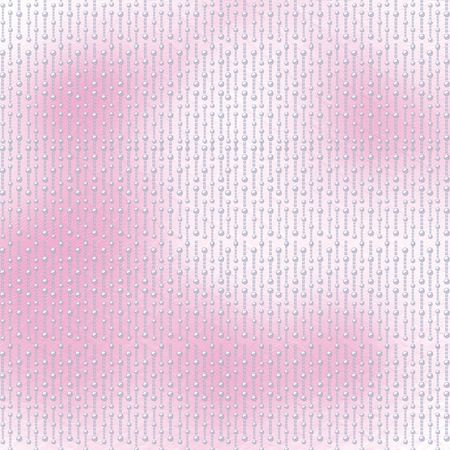 Abstract pink background with white beautiful pearls photo