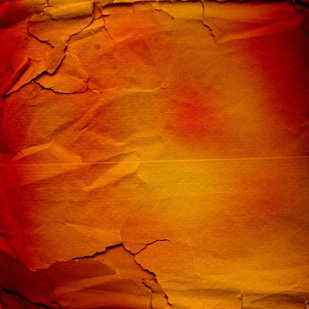 lacerated: grunge lacerated crumpled paper for design, multicolored background