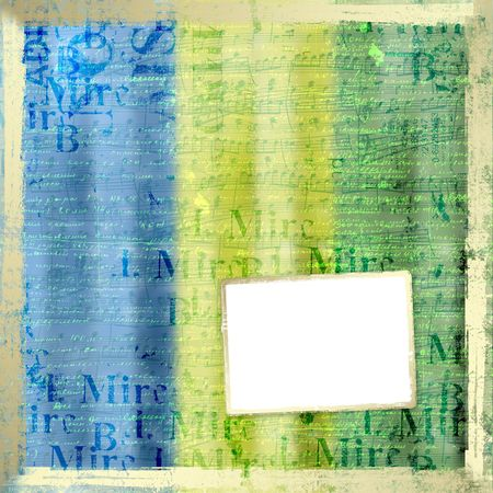 key words  art: grunge frame from old paper on the abstract background Stock Photo
