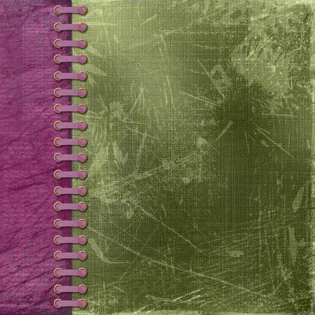 vinous: Vinous antique cover for album with photos