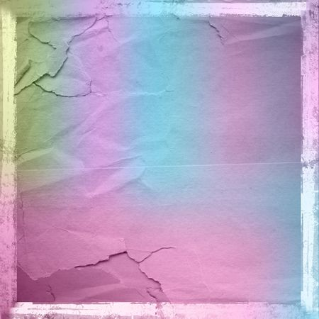 grunge lacerated crumpled paper for design, multicolored background Stock Photo - 6775717
