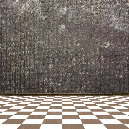 Old room, grunge industrial interior, worn  surface Stock Photo - 6960450