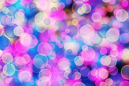 Abstract multicolored background with blur bokeh for design photo