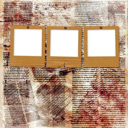 Card for invitation or congratulation on the abstract background  photo