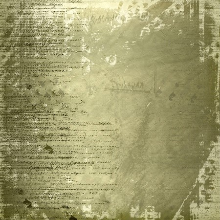 classics: Grunge abstract background with handwrite text for design Stock Photo