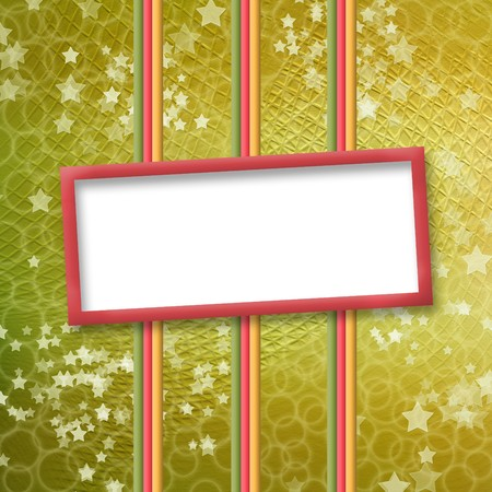 multicoloured holiday frames for greetings or invitations photo