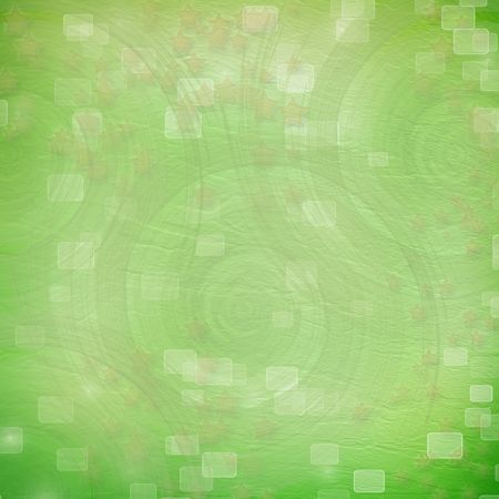 green backdrop for greetings or invitations with stars Stock Photo - 7679250