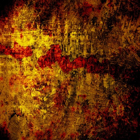 filth: Abstract untidy ancient background in scrapbooking style Stock Photo