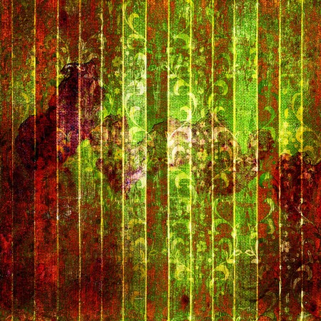 rundown: A cracked rusty metal wall. Background for design