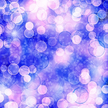 Multicoloured backdrop for greetings or invitations with blur bokeh Stock Photo - 8403408