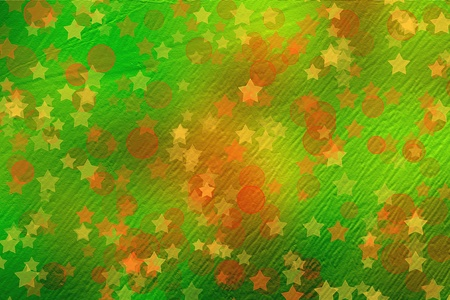 multicoloured backdrop for greetings or invitations with stars photo