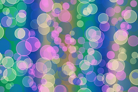 multicoloured backdrop for greetings or invitations with blur bokeh