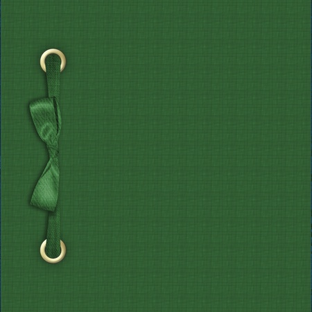 Green album for holiday St. Patricks Day photo