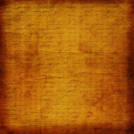 dopisní papír: Grunge starý papír design ve stylu scrapbooking s rukopisem