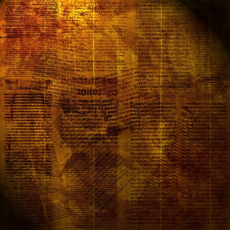 daily newspaper: Grunge abstract  paper background for design. newspaper Stock Photo
