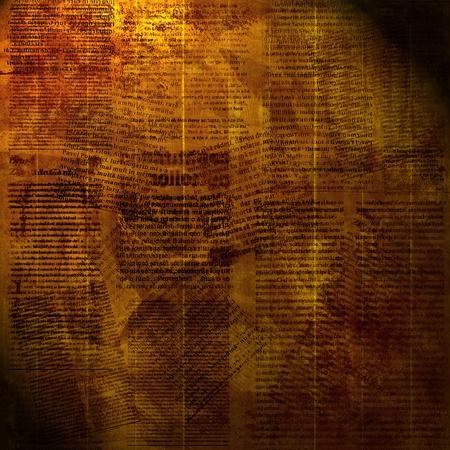 newspapers: Grunge abstracte papier achtergrond voor het ontwerp. krant