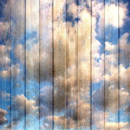 wall clouds: Grunge wooden vintage scratch background . Abstract backdrop for illustration